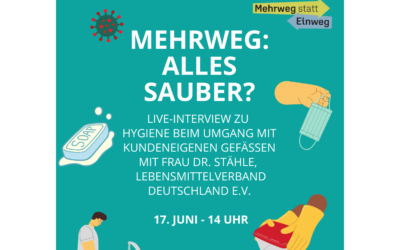 Interview – Mehrweg: alles sauber?