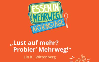 """Aktionstage """"Essen in Mehrweg"""" 28.06. – 03.07."""